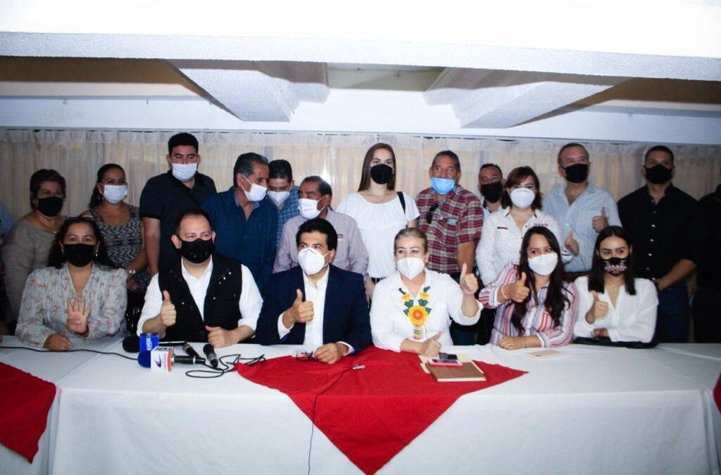 Anuncian legisladores de Morena respaldo al presidente