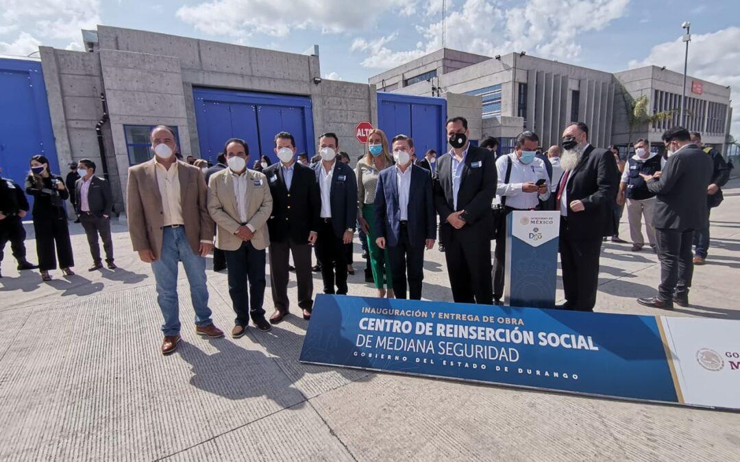 Entregan nuevo Centro de Reinserción Social de mediana seguridad