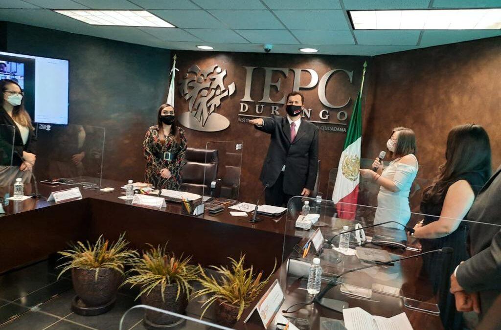 Toma protesta Roberto Herrera Hernández como Consejero Presidente del IEPC en Durango