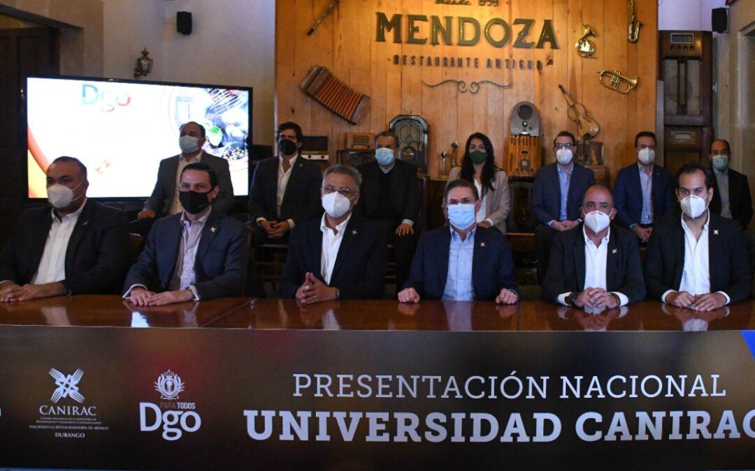 PRESENTAN LA UNIVERSIDAD CANIRAC EN DURANGO