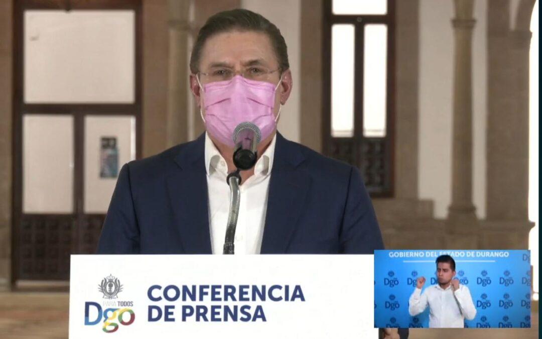 ENDURECE MEDIDAS EL GOBIERNO POR REBROTE DE COVID-19
