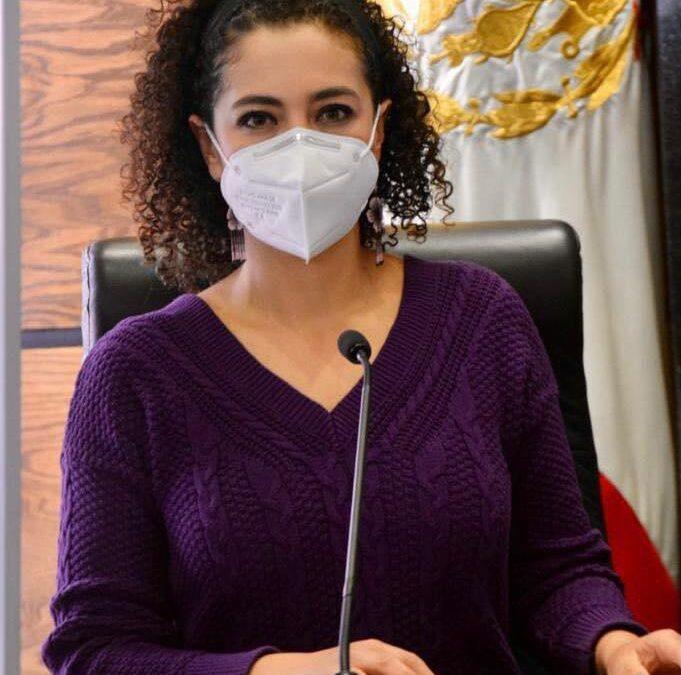 Pide Gaby Hernández programa de vacunación eficiente en Durango