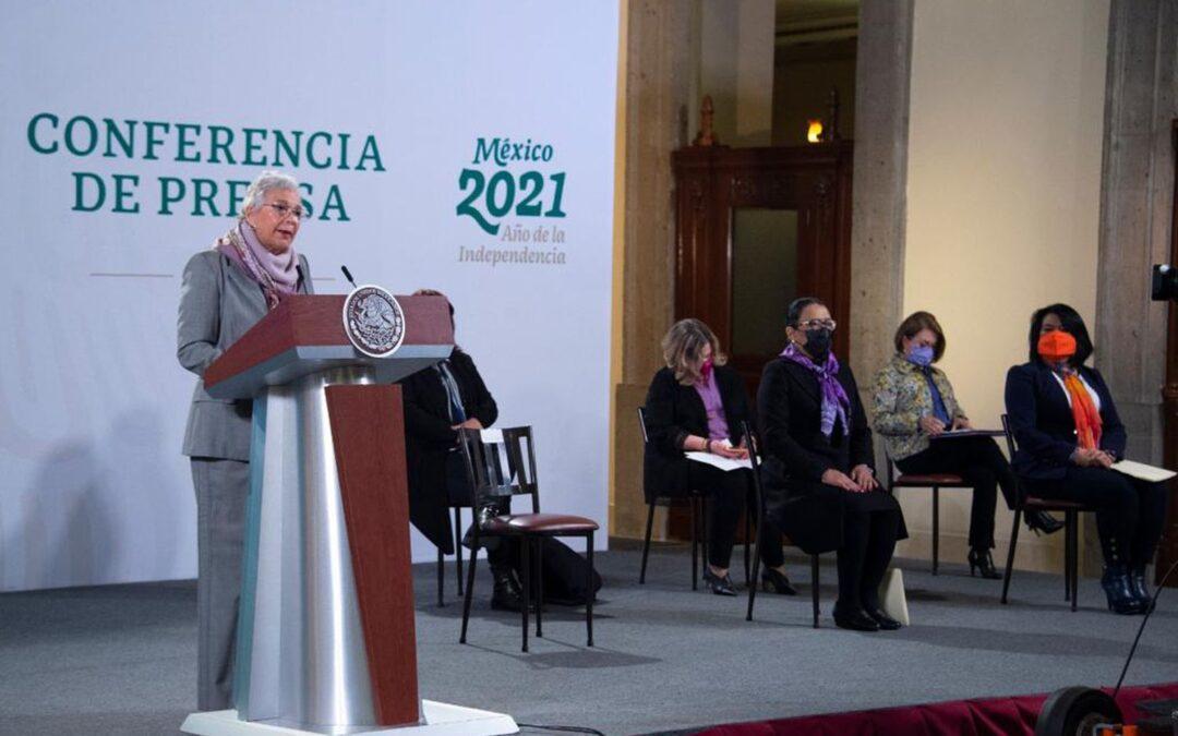 Marihuana, aborto y feminismo: así son las mañaneras sin López Obrador