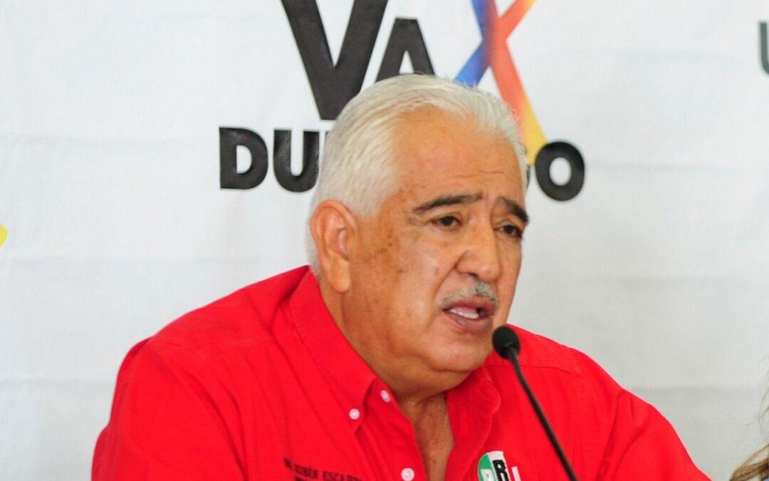 Hay confianza en el trabajo profesional de los órganos electorales: Rubén Escajeda