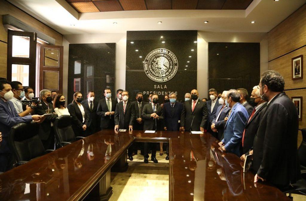 Inaugura Congreso del Estado 'Sala de Presidentes'