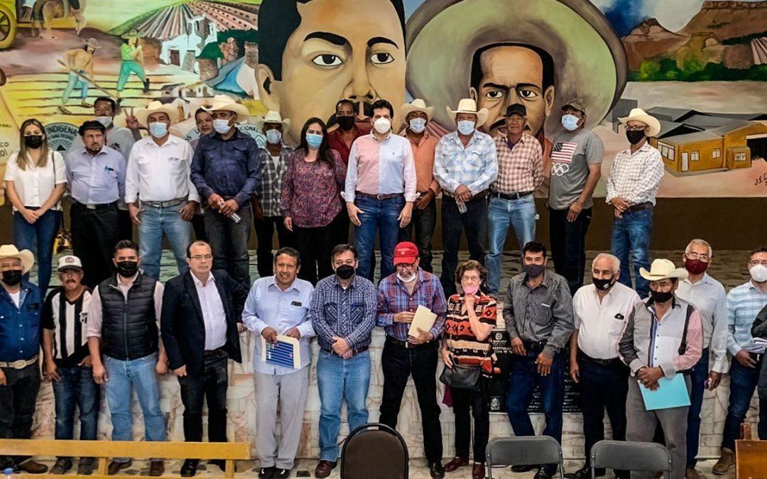 Desde el Senado, seguiremos fortaleciendo la productividad del campo de Durango: Dr. Ramón Enríquez