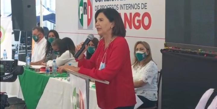 PRI buscará recuperar lo perdido: Rocío Rebollo