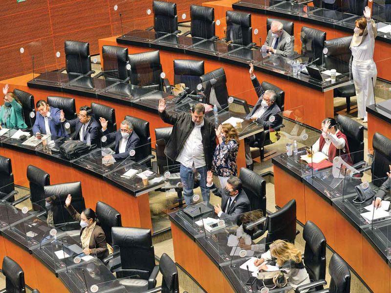 Abrirán Legislatura con 'fast track' a revocación; alistan sesión en el Senado