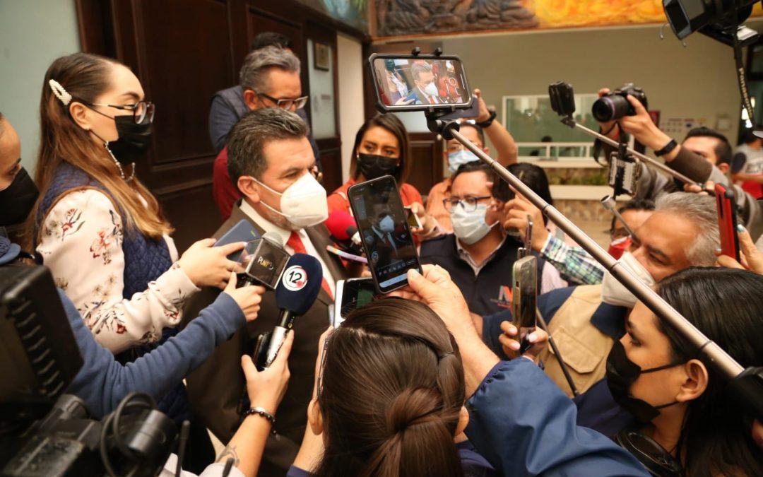La prioridad de esta Legislatura serán los ciudadanos: Ricardo López