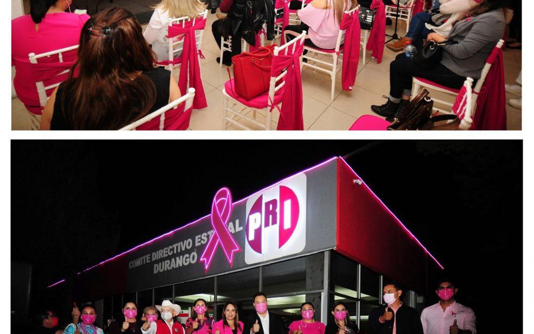 Que la concientización sobre cáncer en la mujer sea todo el año: PRI